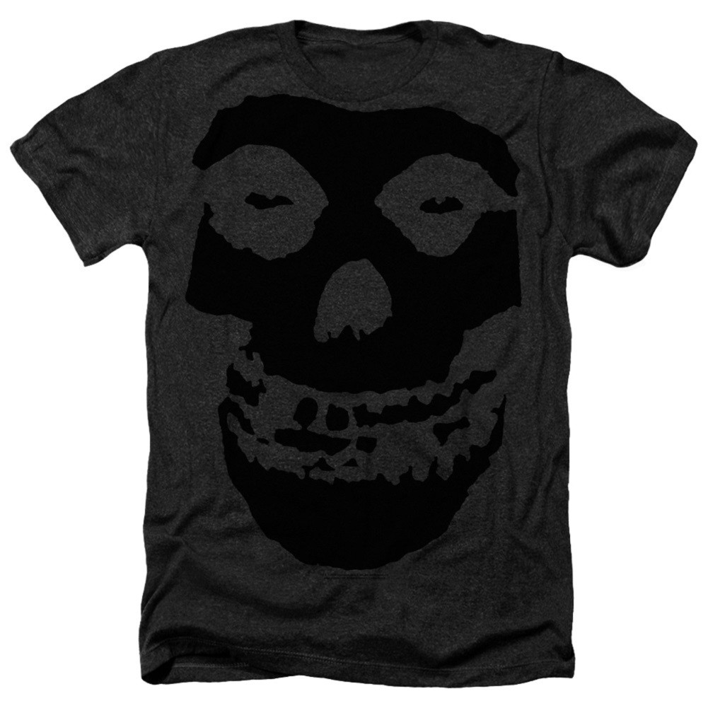 The Misfits Black on Black Logo Tshirt