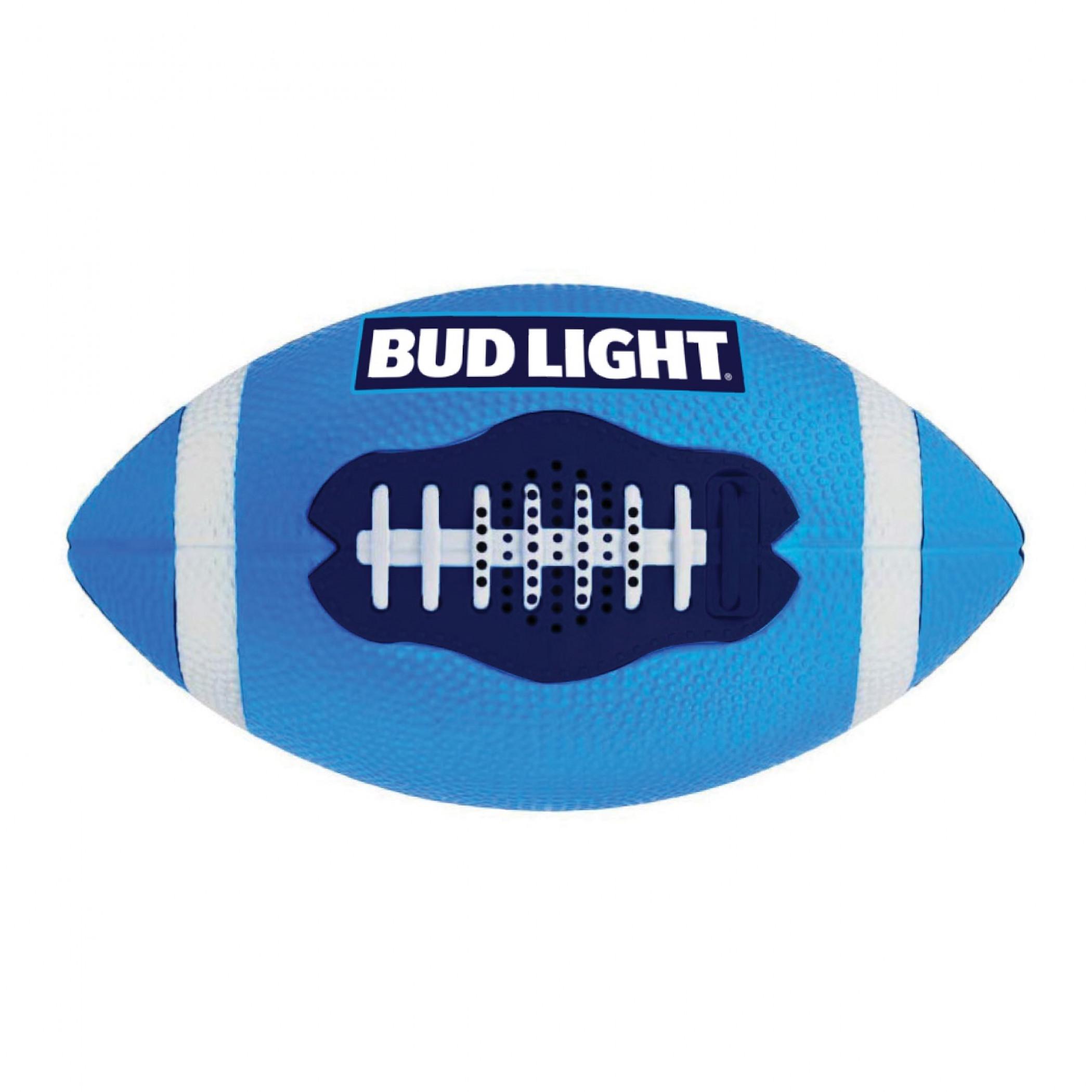 Bud Light Bluetooth Football Speaker Inflated & Playable