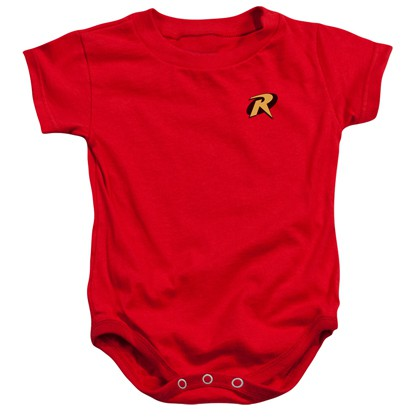 Robin Logo Baby Onesie