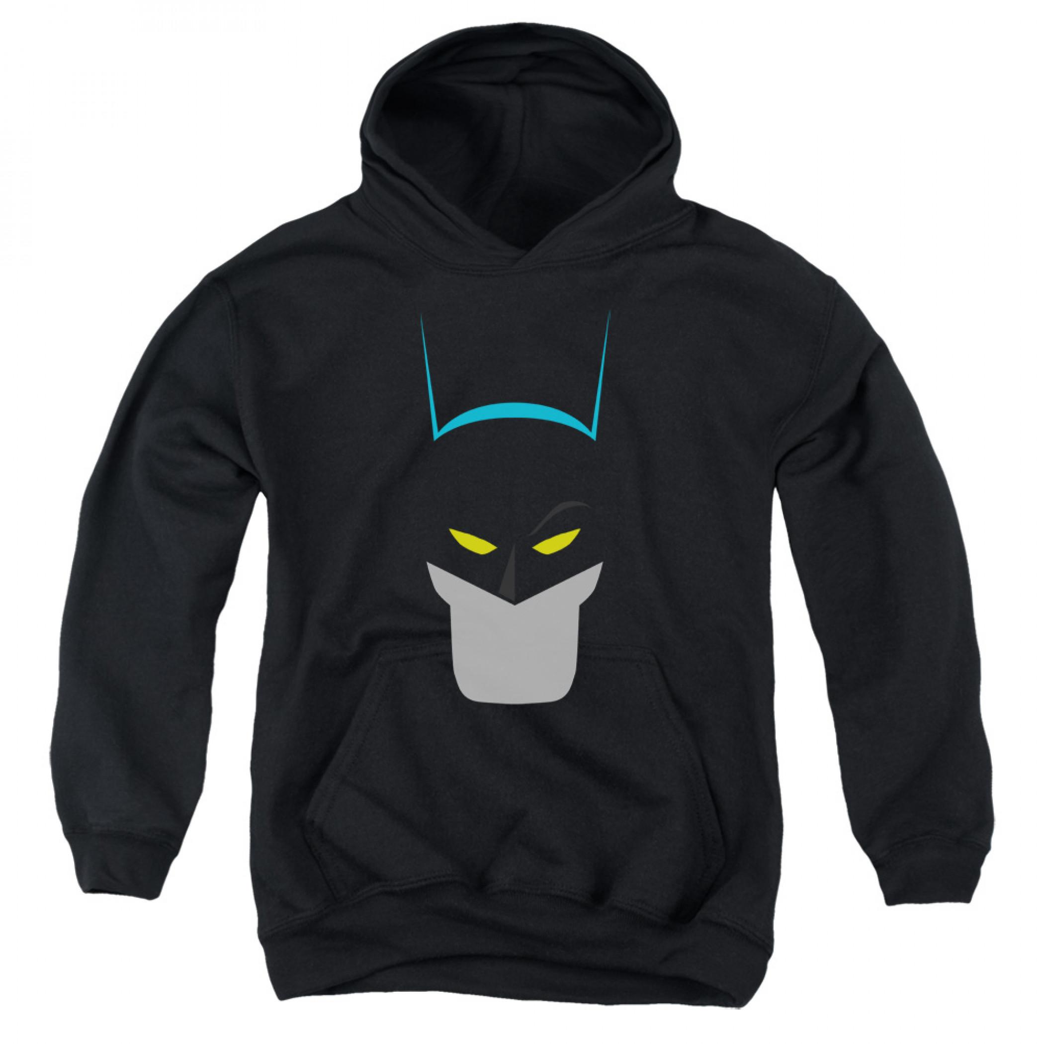 Bat Head Batman Youth Hoodie