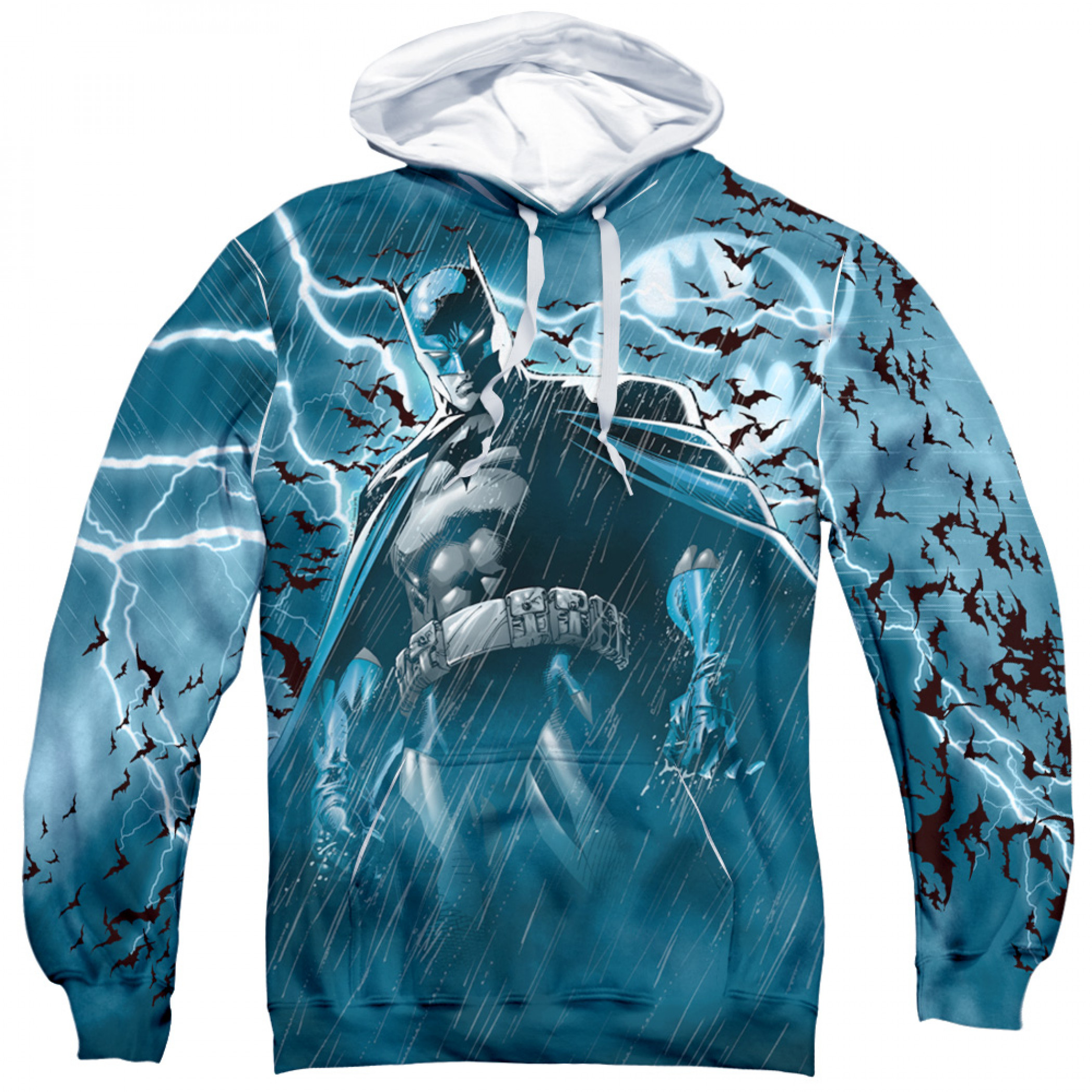 Batman Stormy Knight All Over Print Hoodie