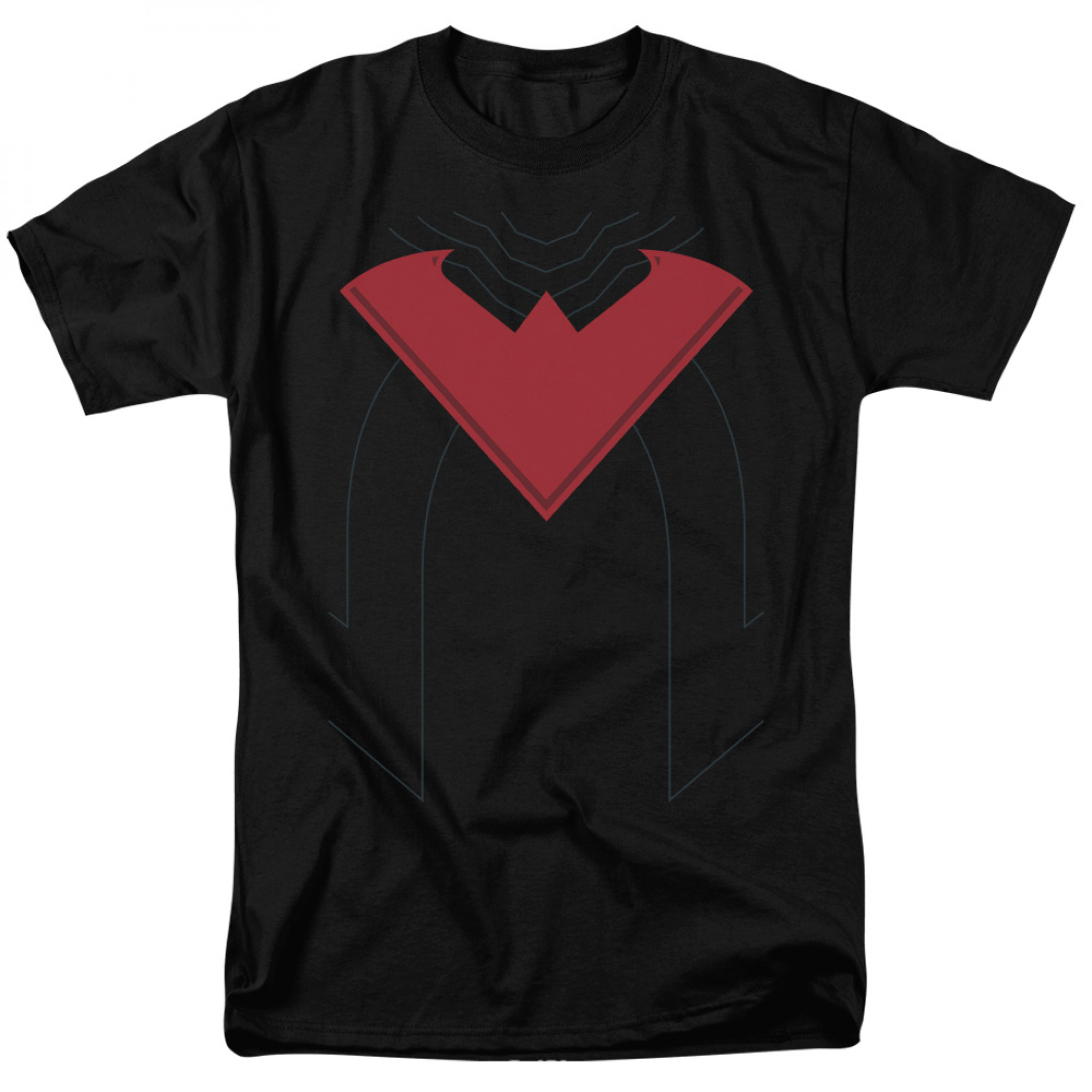Nightwing Red Symbol Costume T-Shirt