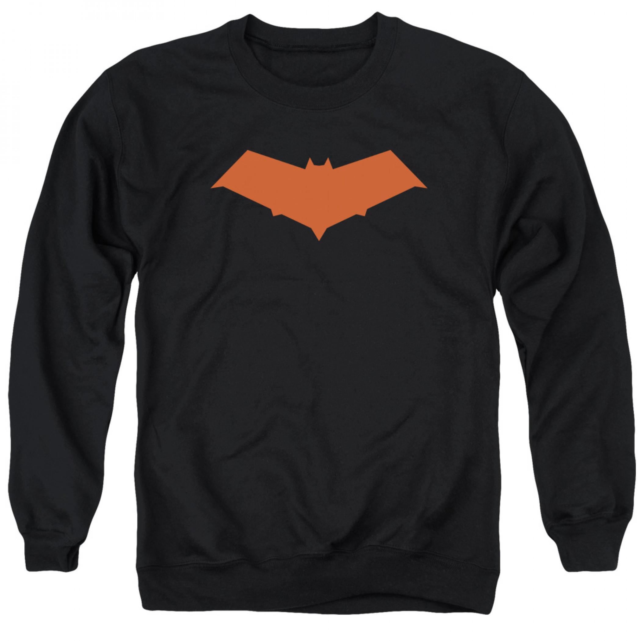 Batman Red Hood Logo Crewneck Sweatshirt