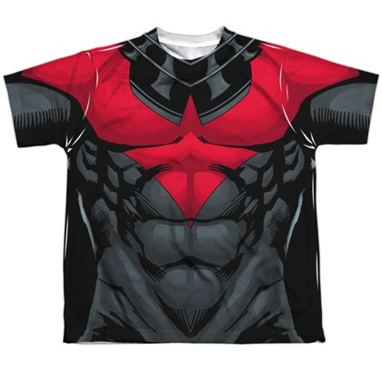 Nightwing Red Uniform Youth Costume Tee