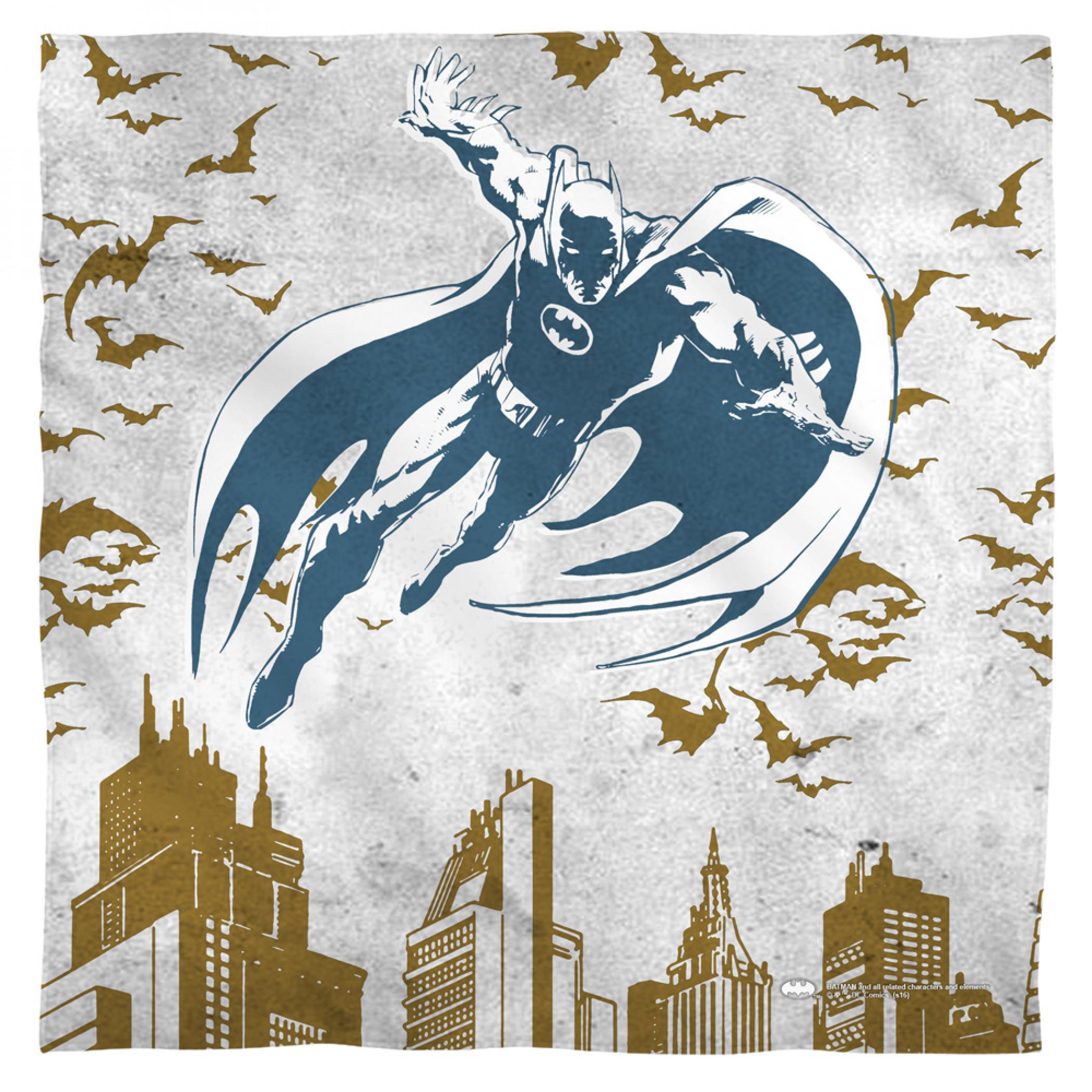 Batman City Roof Tops Bandana