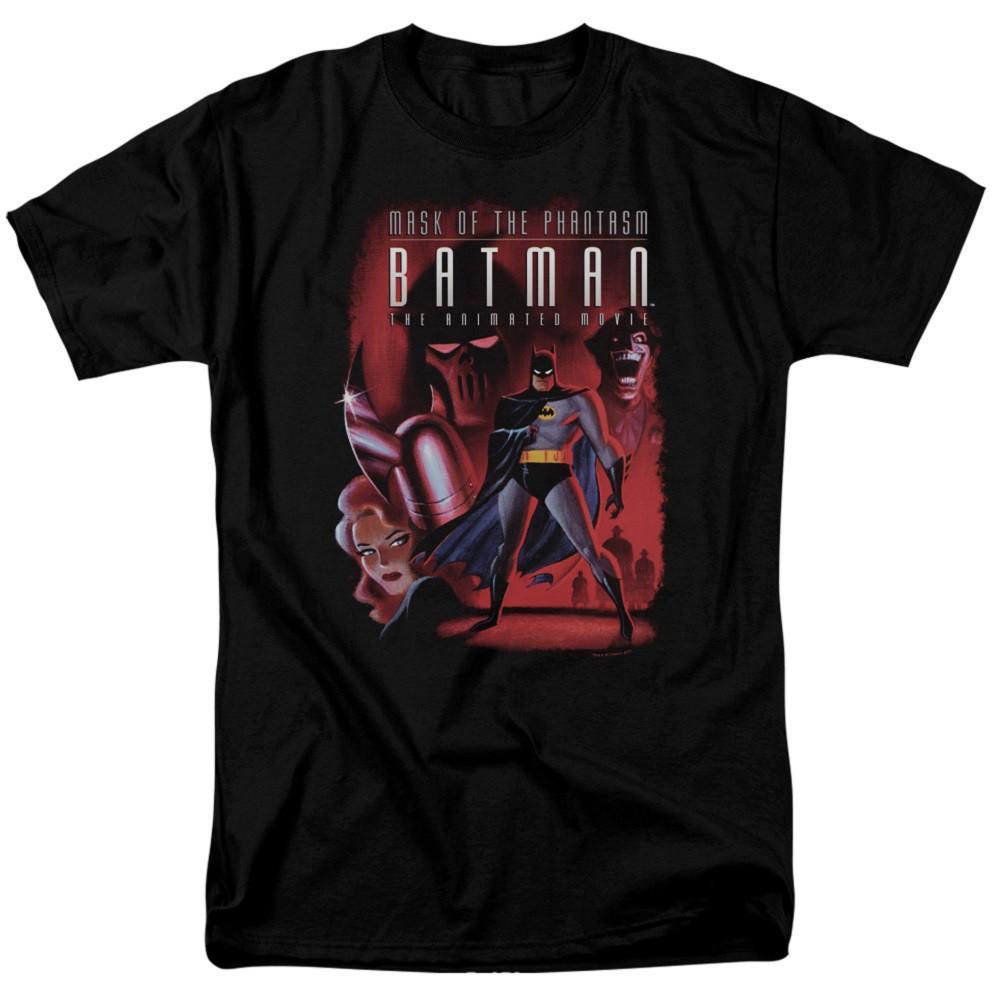 Batman Phantasm Cover Men's Black T-Shirt