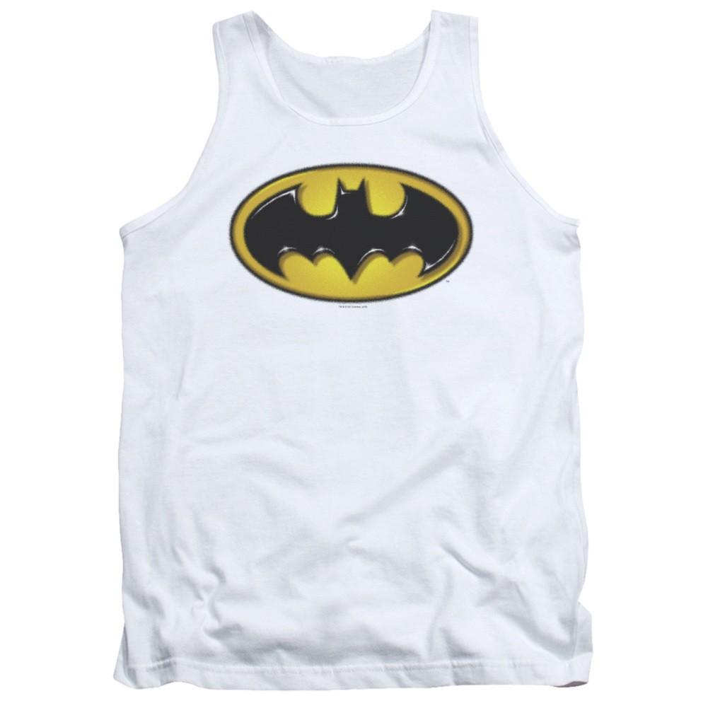 Batman Airbrushed Logo Tank Top