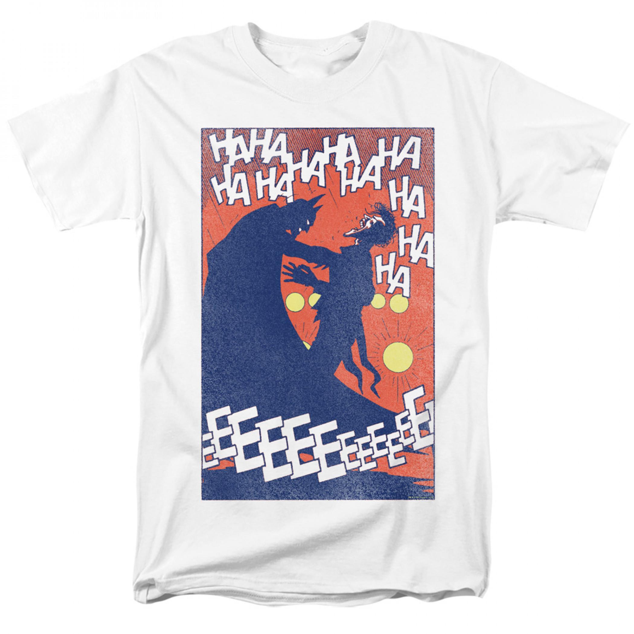 The Joker and Batman Punchline T-Shirt