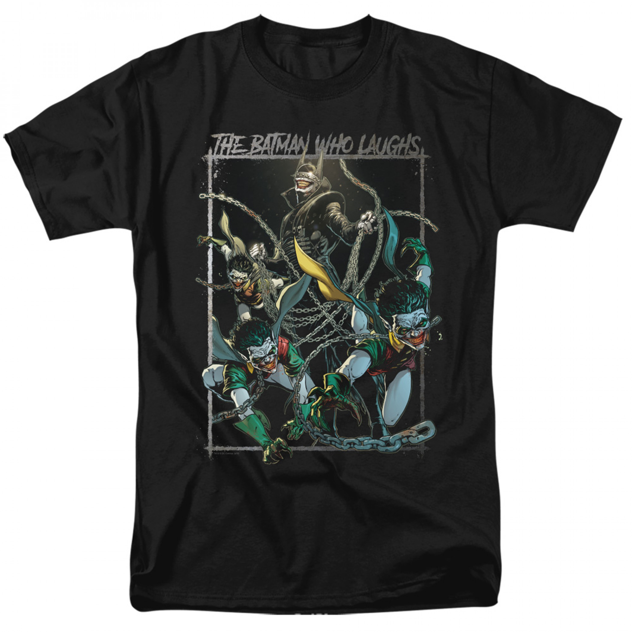 The Joker Batman Who Laughs T-Shirt