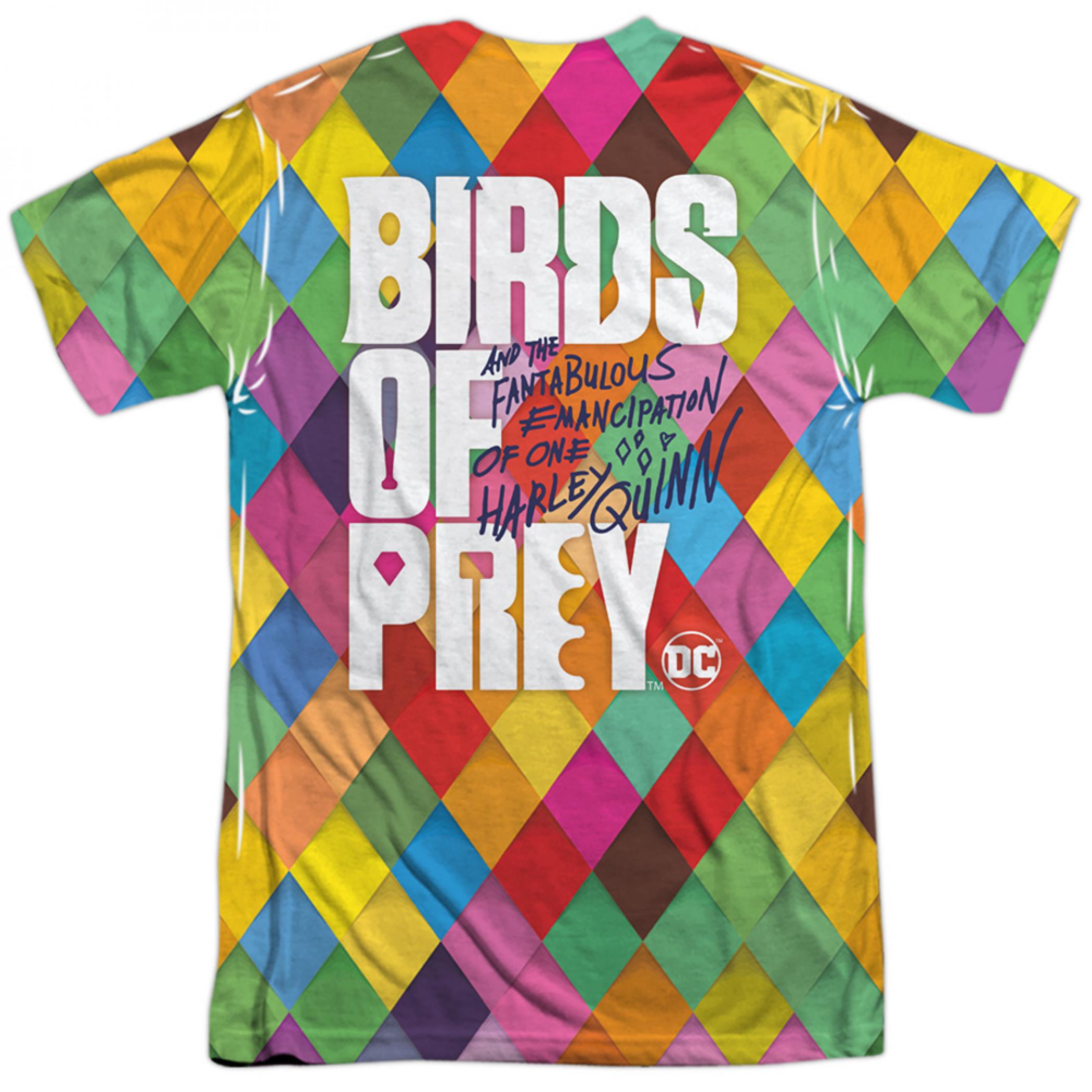 Birds of Prey Harley Quinn Feathers T-Shirt