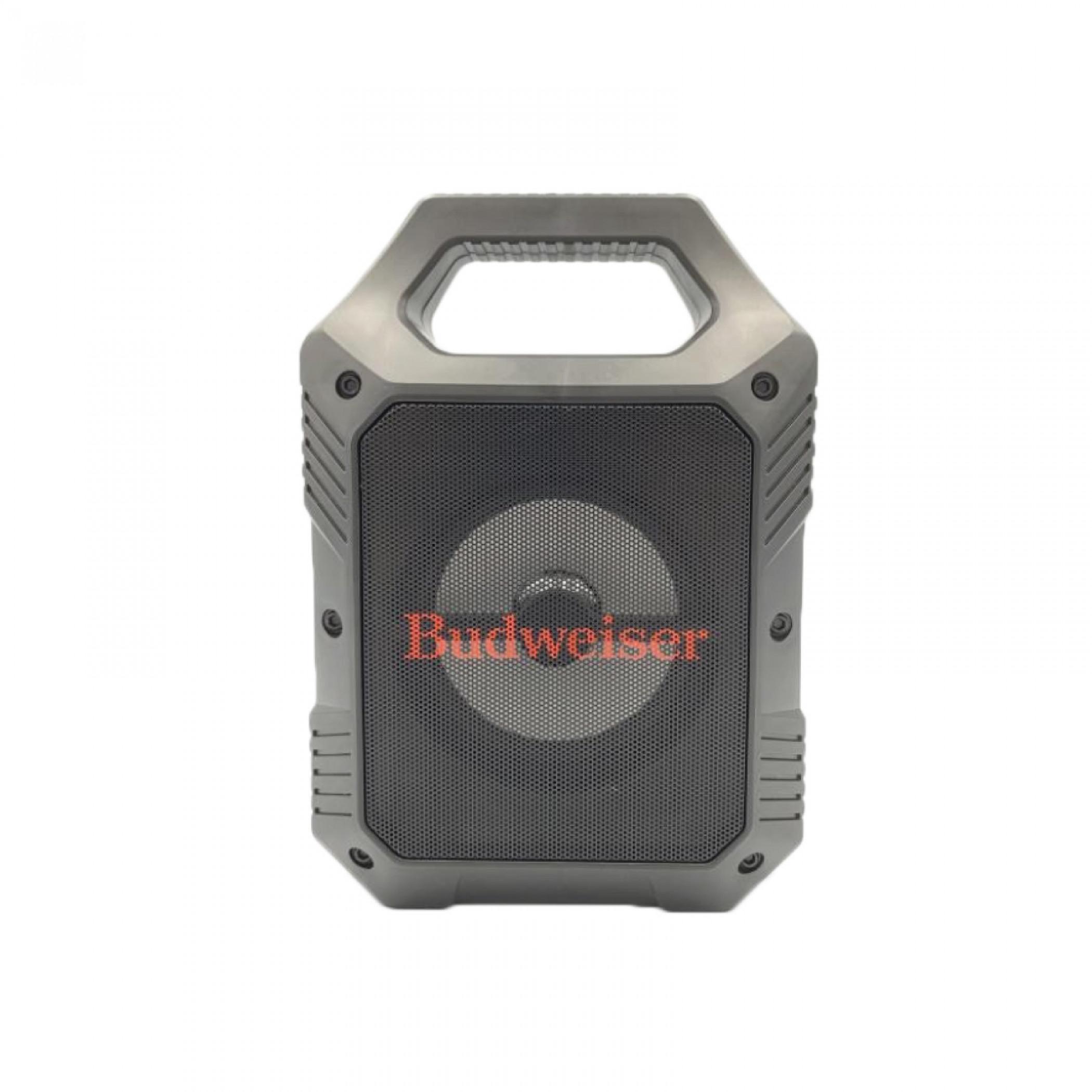 "Budweiser 9"" Rugged Tailgate LED Bluetooth Speaker"