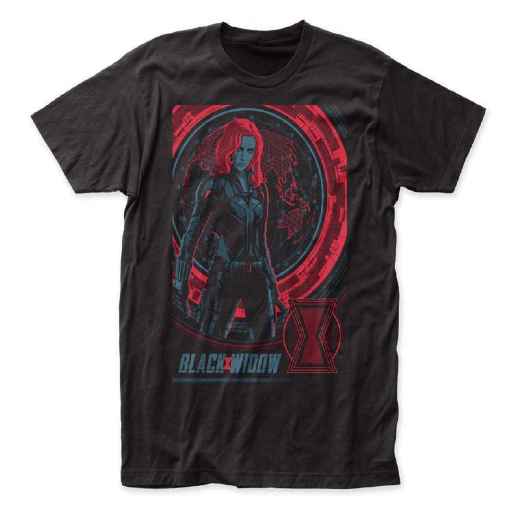 Black Widow Movie Hero Stance T-Shirt