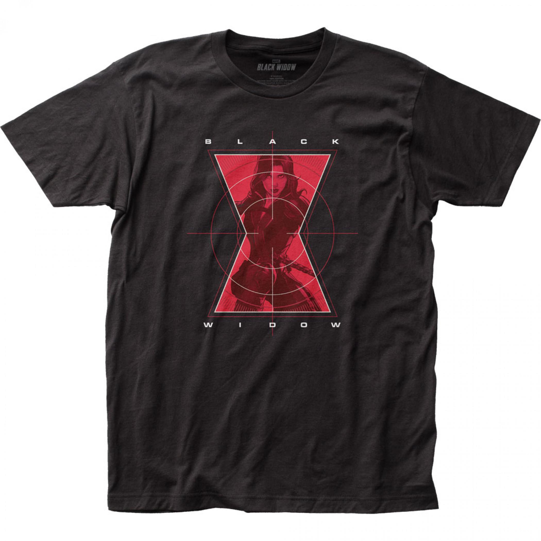 Marvel Black Widow Movie Crosshairs T-Shirt