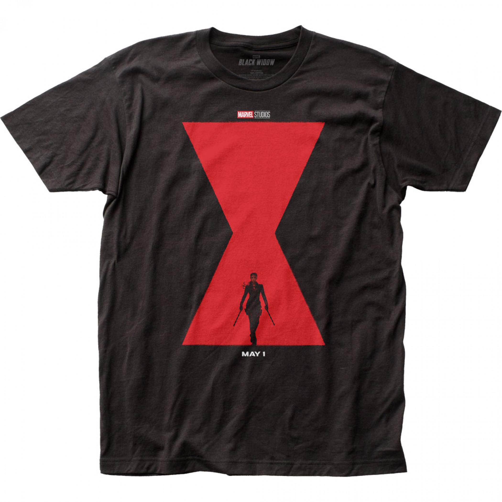 Marvel Black Widow Movie Widow Poster T-Shirt