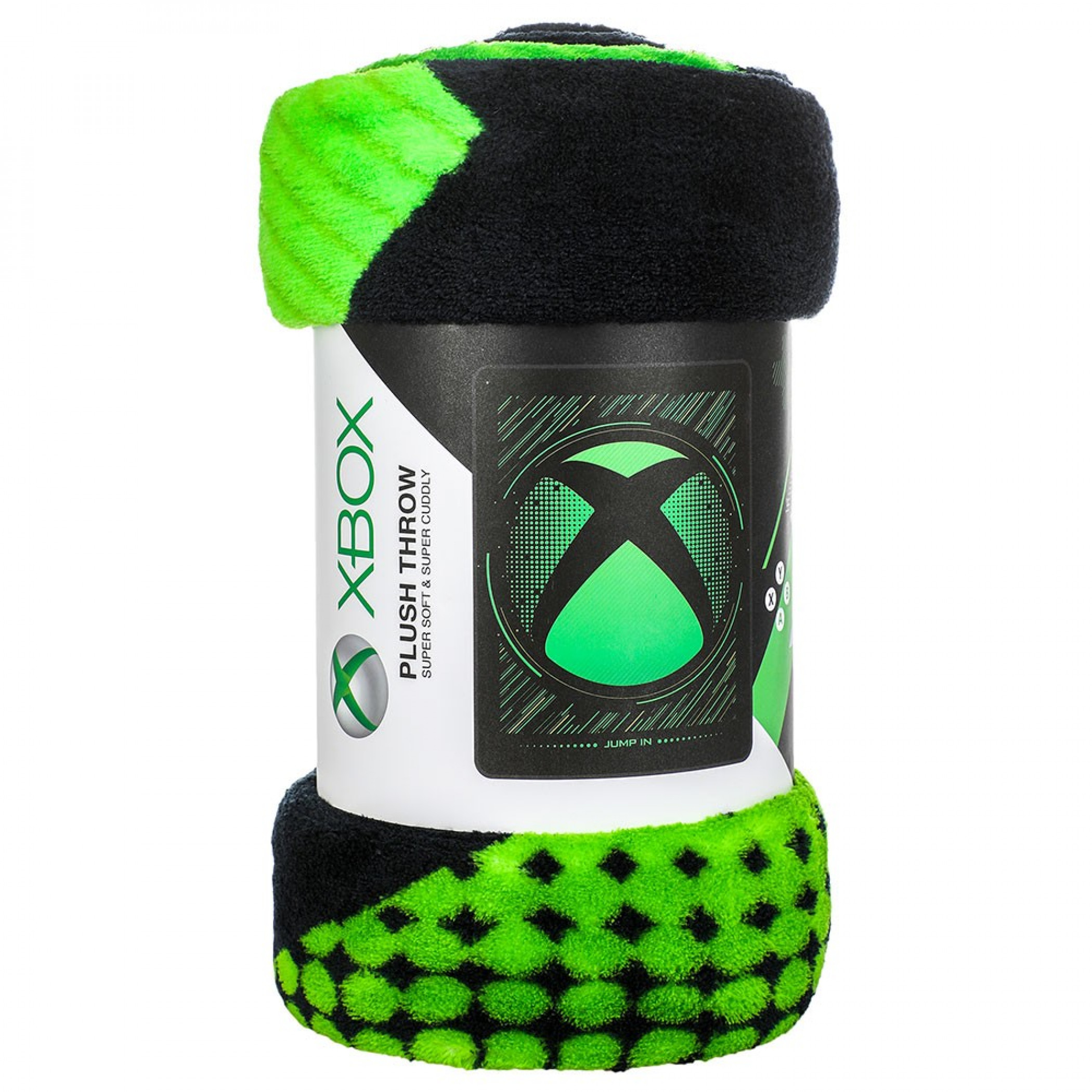 Xbox Logo Digital Fleece Throw Blanket