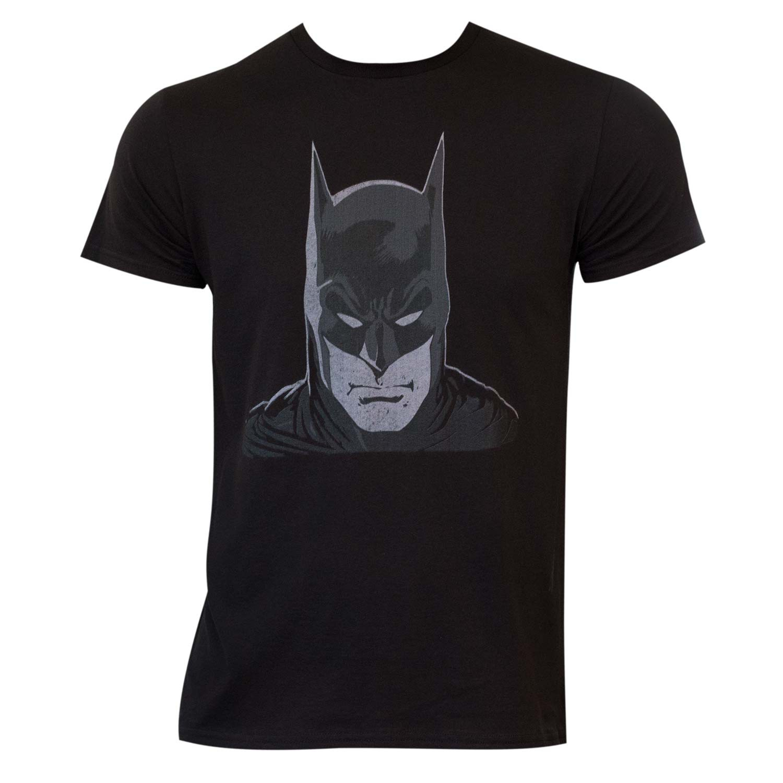 Batman Head Black Shirt