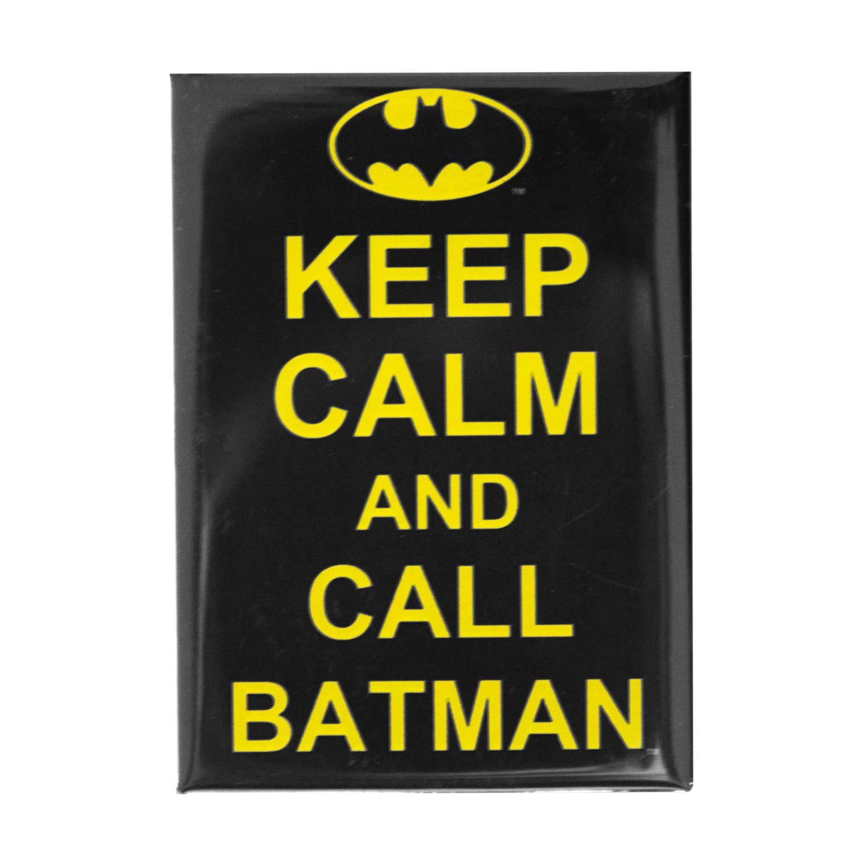 Batman Keep Calm and Call Batman Magnet