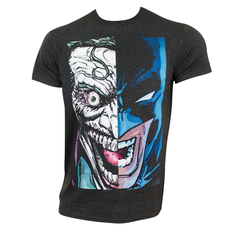 Batman Joker Split Tee Shirt