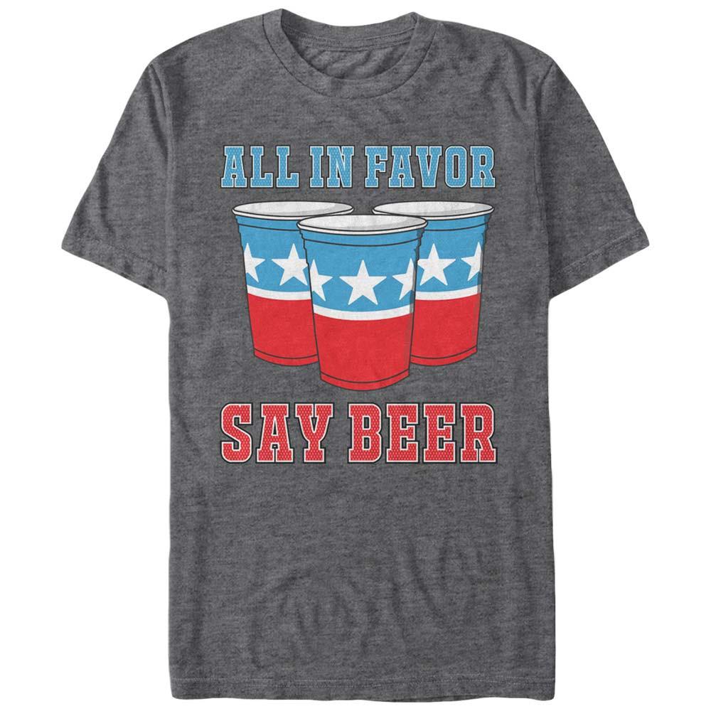 All In Favor Say Beer Tshirt