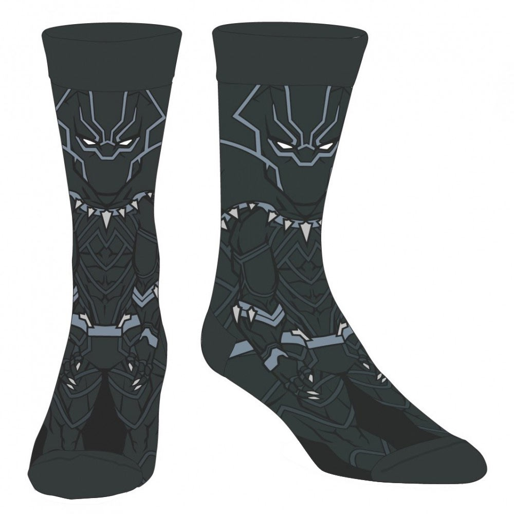 Black Panther Character Men's Socks
