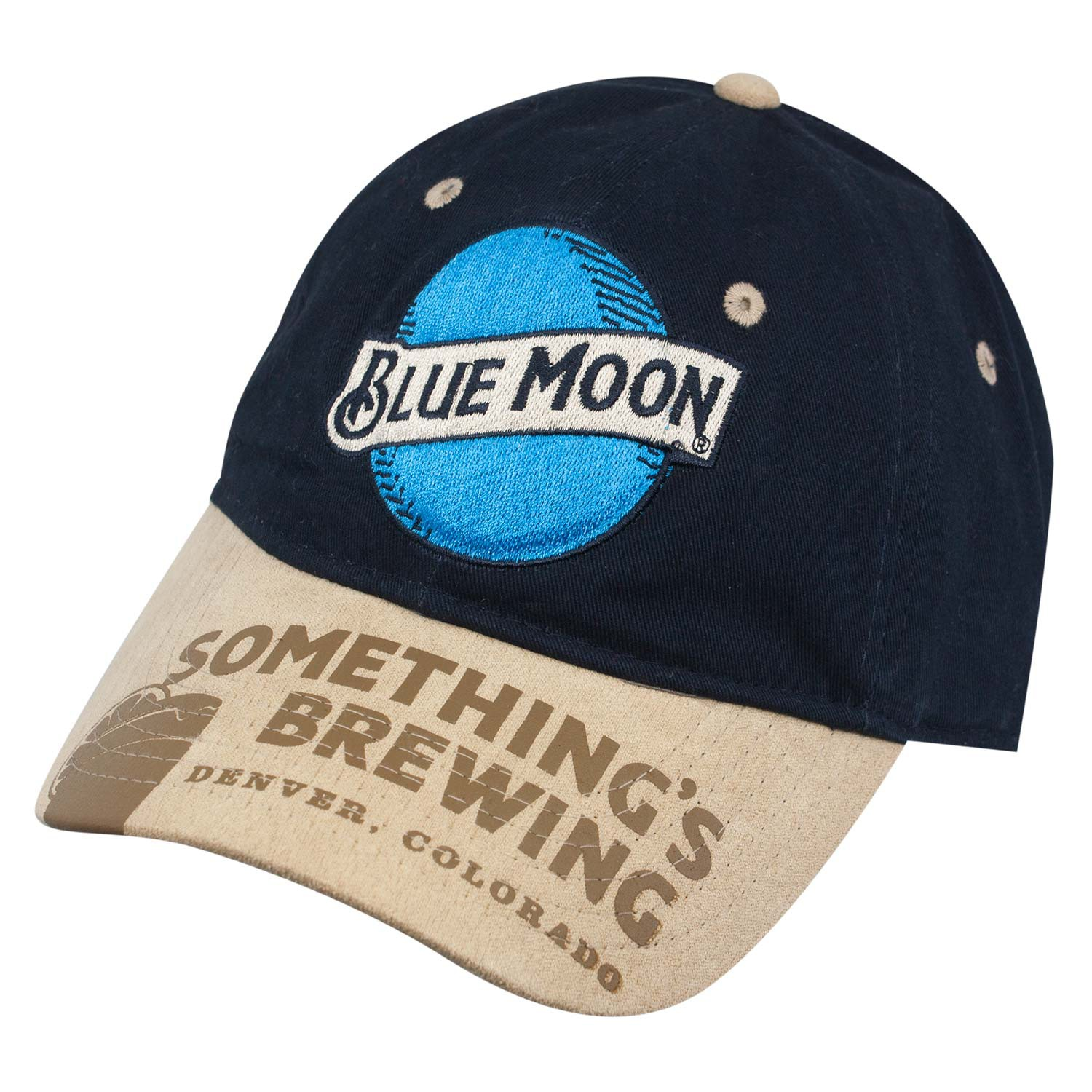 Blue Moon Navy Something's Brewing Strapback Hat