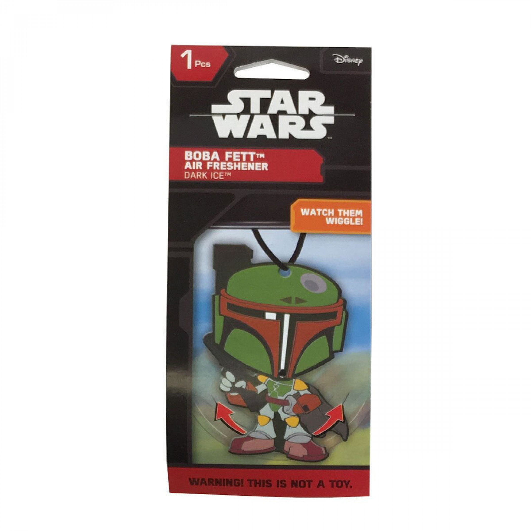 Star Wars Boba Fett Wiggler Car Air Freshener