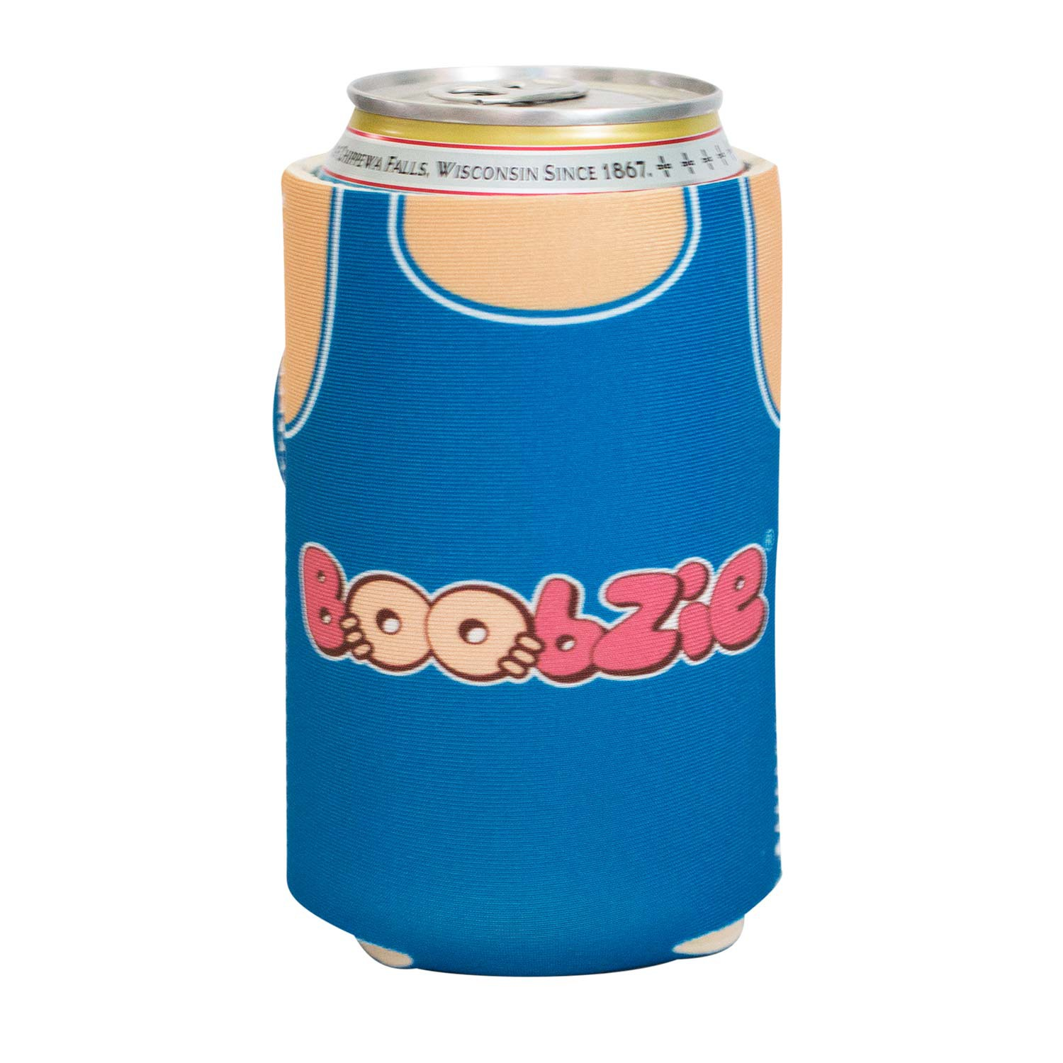 Boobzie Gone Fishing Boob Can Cooler