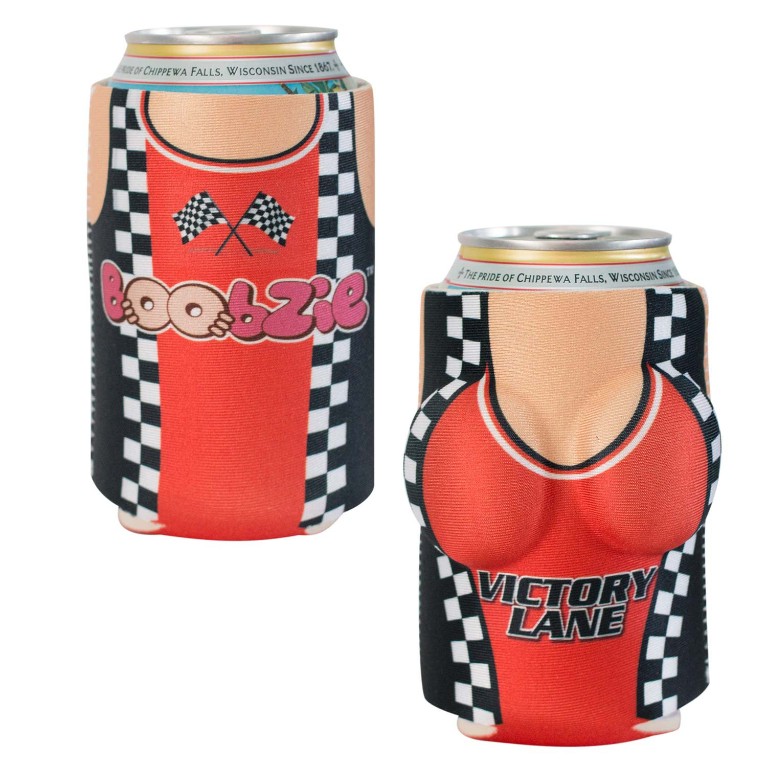 Victory Lane Boobzie Beer Can Cooler