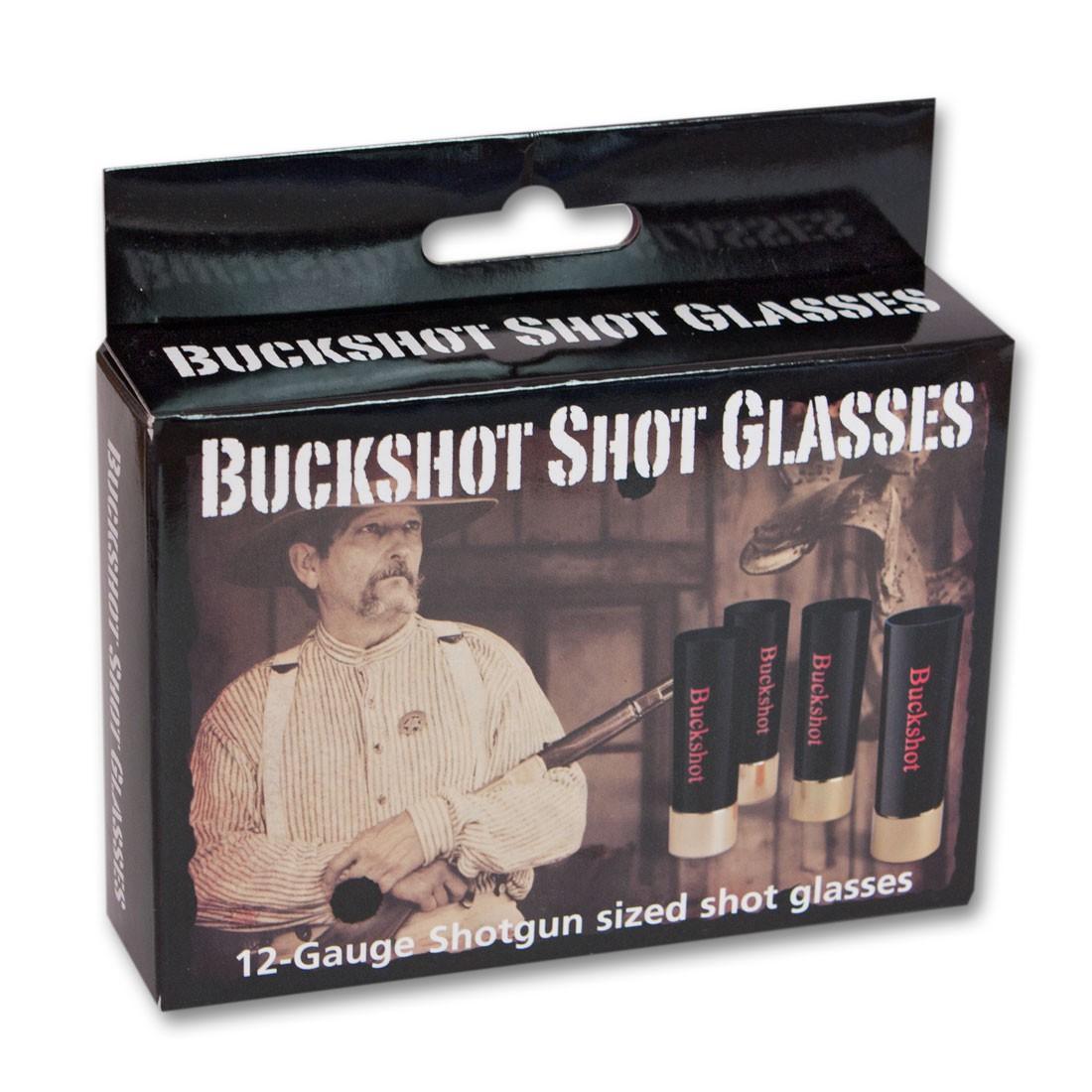 Buckshot Shotglasses 4-Pack