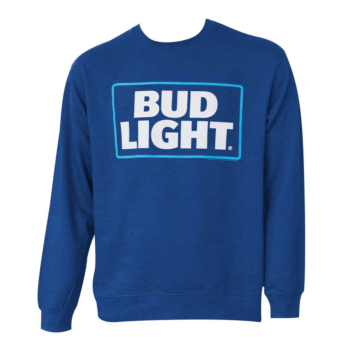 Bud Light Crewneck Navy Sweatshirt