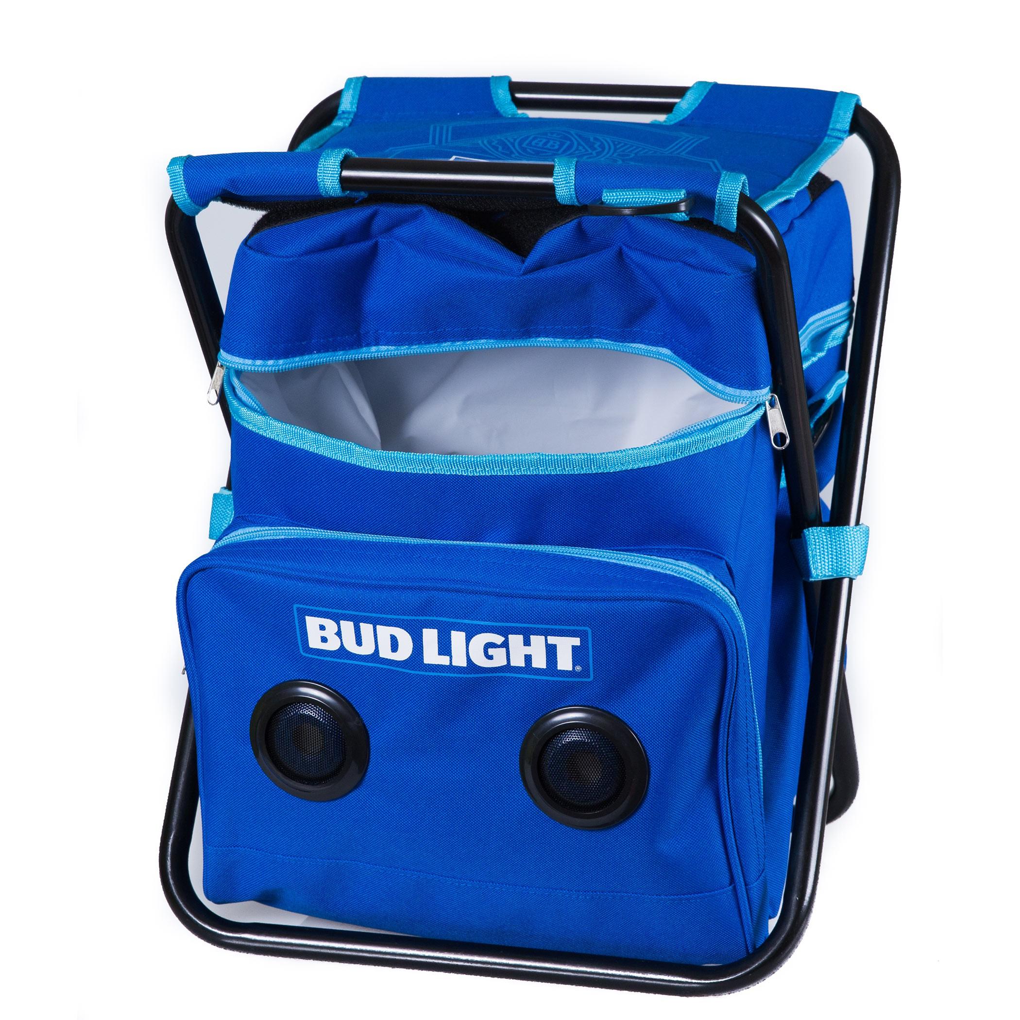 Bud Light Folding Chair Cooler Speaker Combo