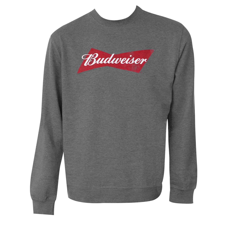 Budweiser Bowtie Logo Crewneck Sweatshirt