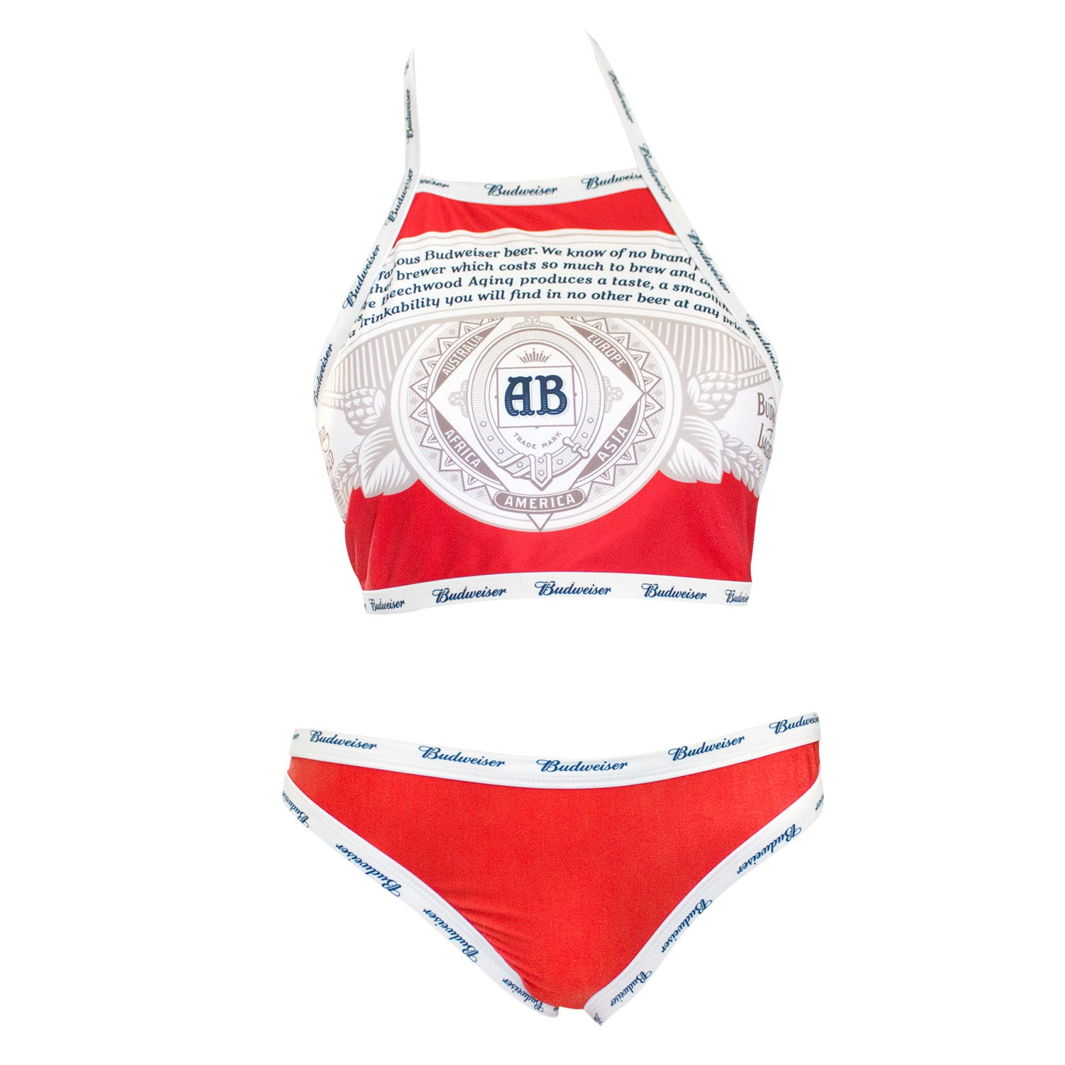 Budweiser Two-Piece Bikini