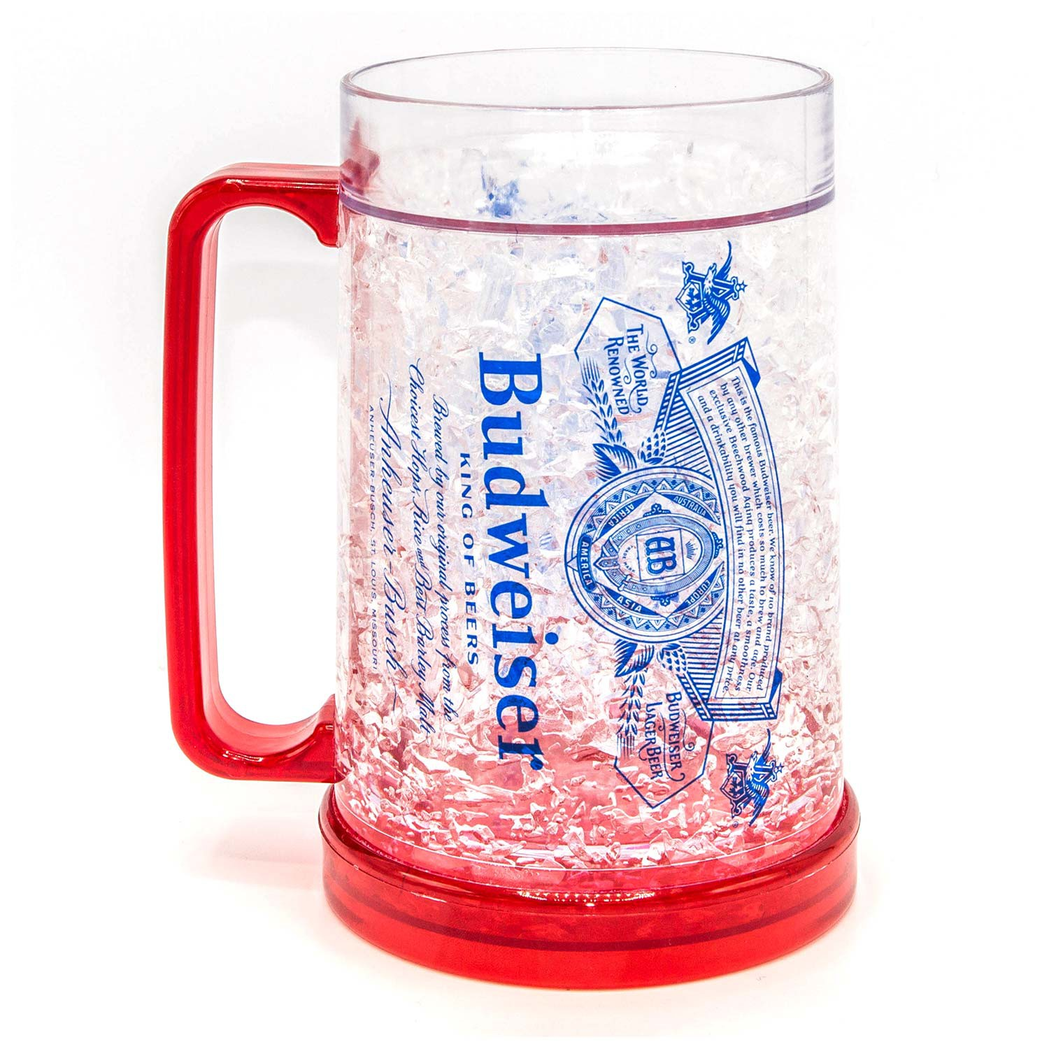 Budweiser Freezer Beer Stein 16 Ounces
