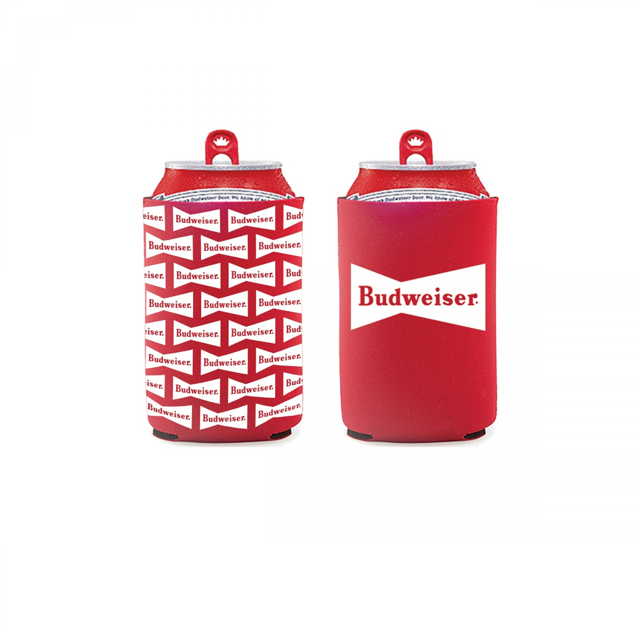Budweiser 2-Pack of Neoprene Can Coolers