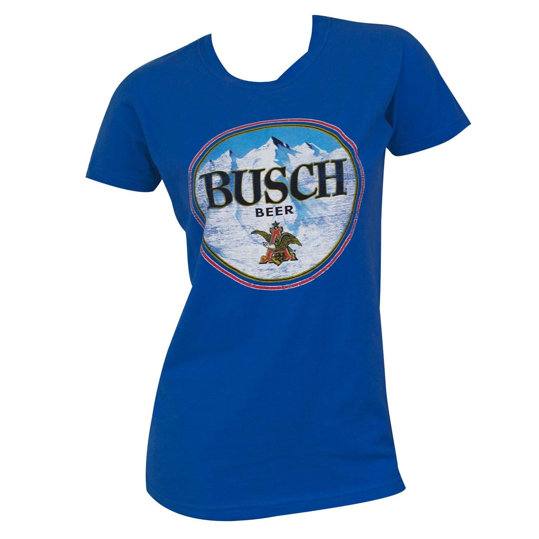 Busch Round Logo Women's Tee Shirt