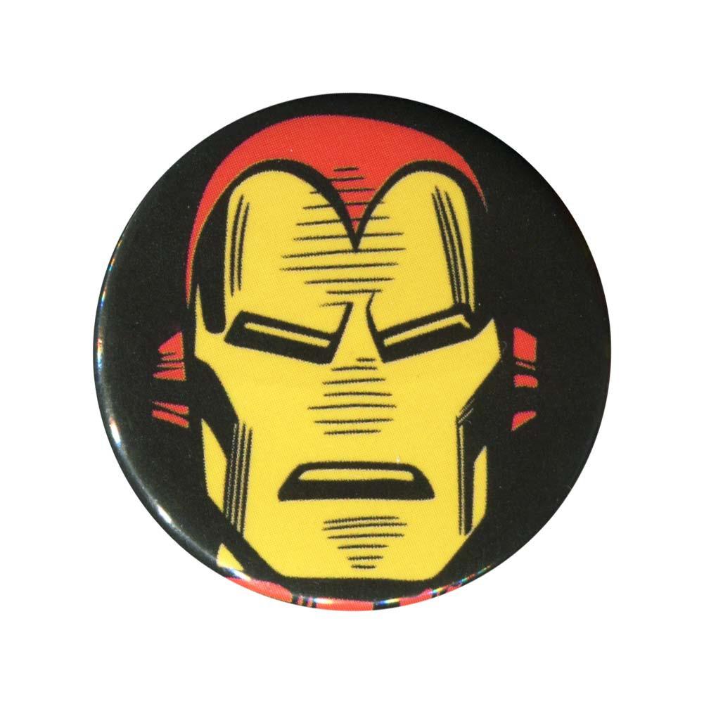 Iron Man Face Button