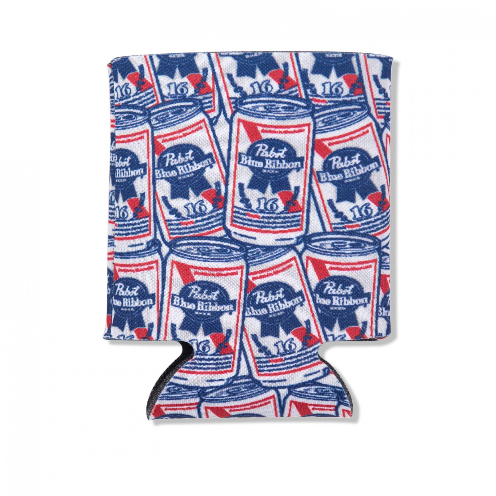 Pabst Blue Ribbon Beer All Over Cans Can Cooler
