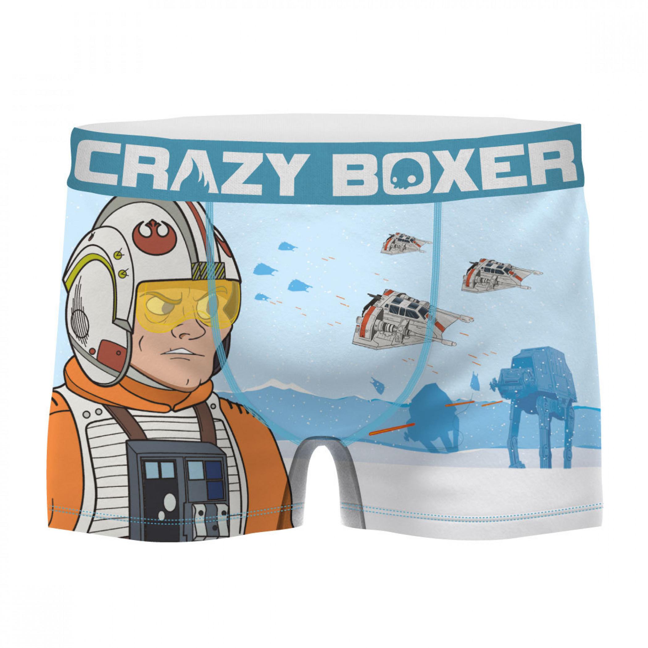 Star Wars Battle of Hoth Men's Boxer Briefs Shorts
