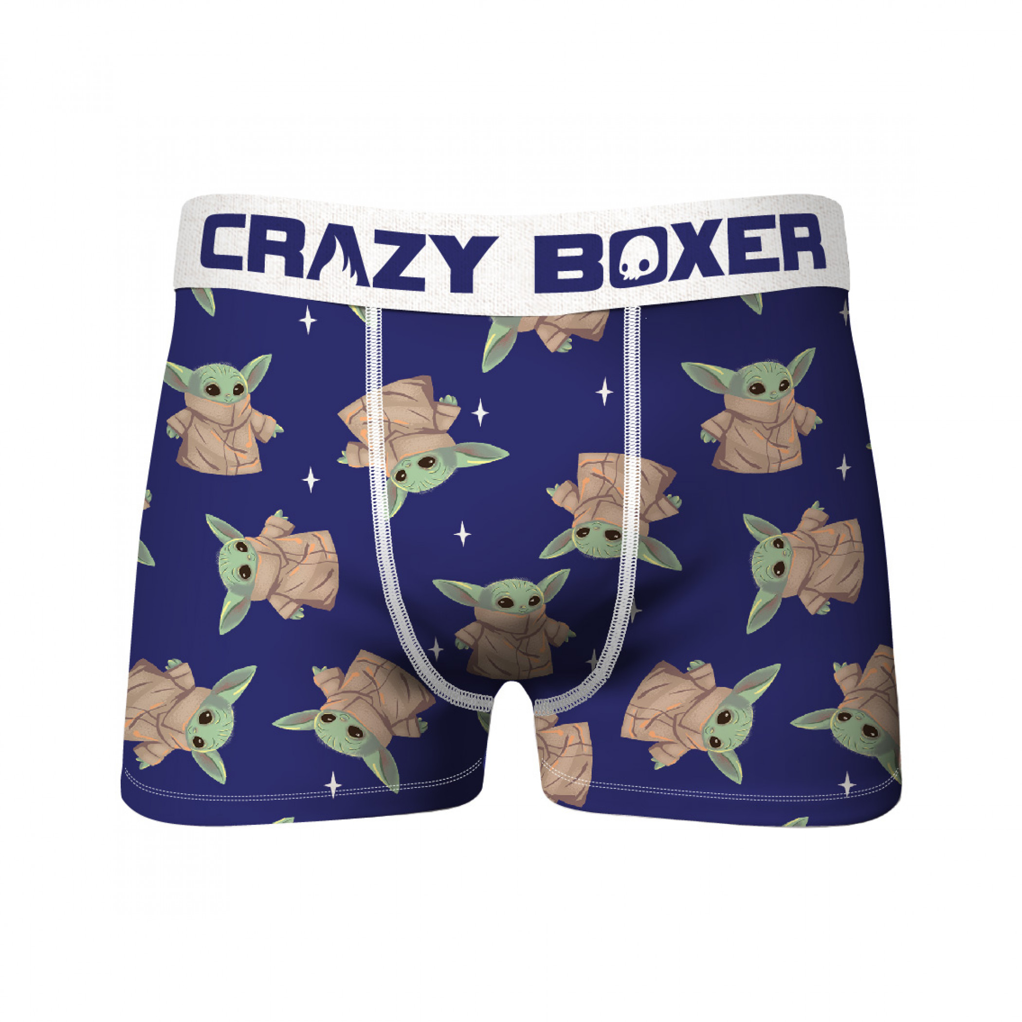 Star Wars The Child Cute Character All Over Print Men's Crazy Boxer Briefs
