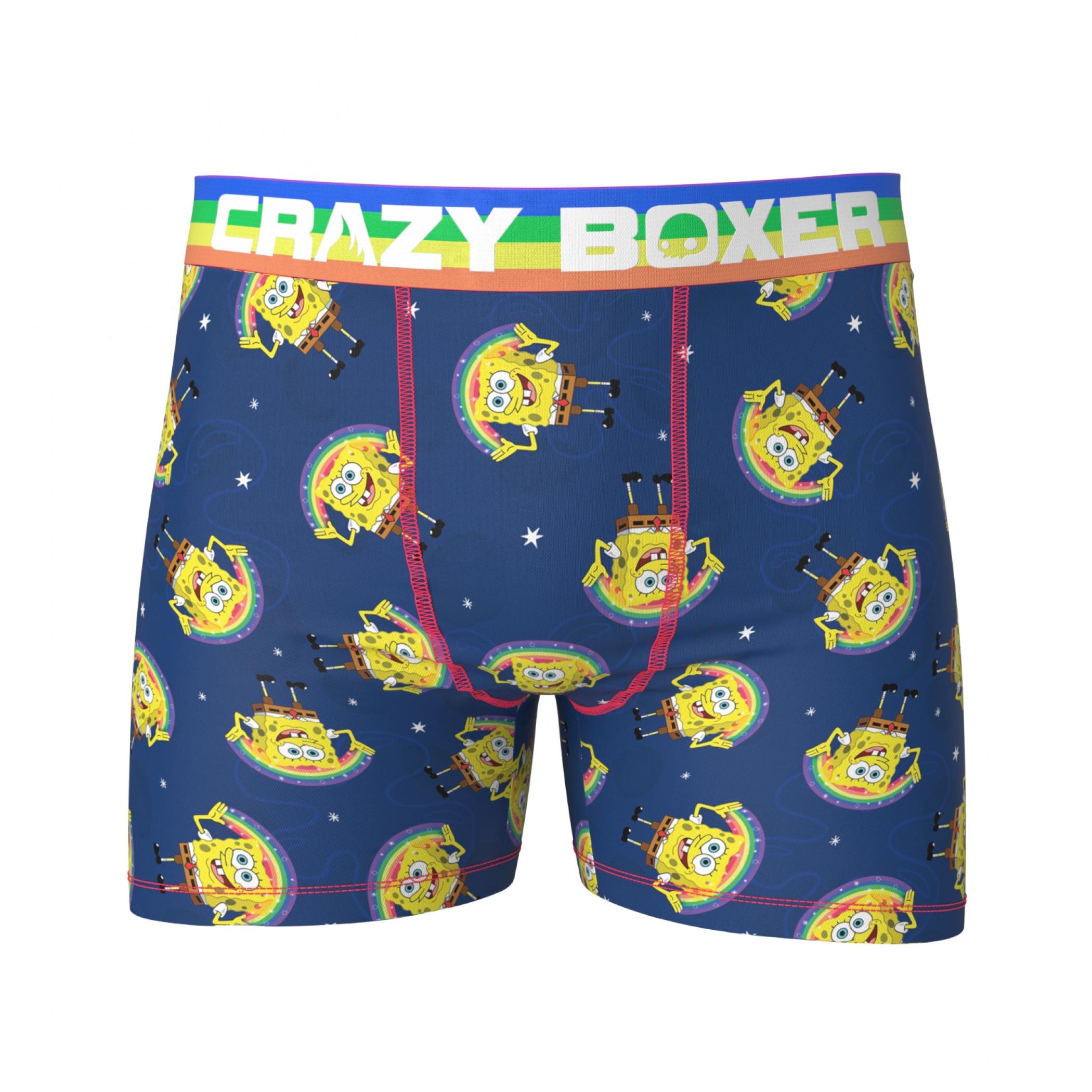 SpongeBob SquarePants Imagination On Men's Boxer Briefs Shorts