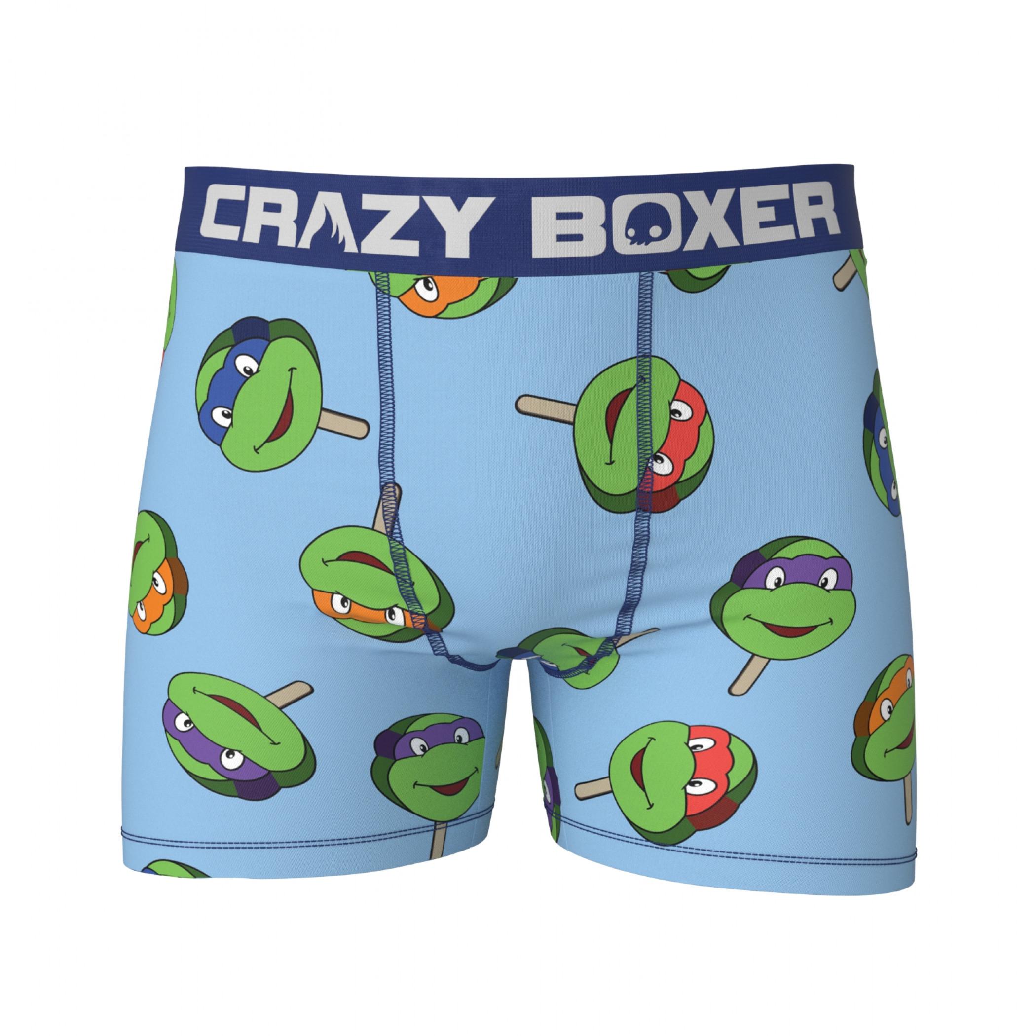TMNT Freeze Pop Men's Boxer Briefs Shorts