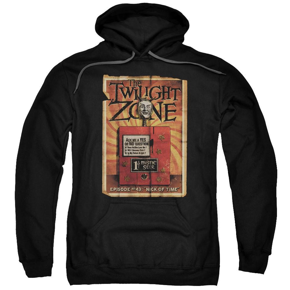 Twilight Zone Seer Black Pullover Hoodie