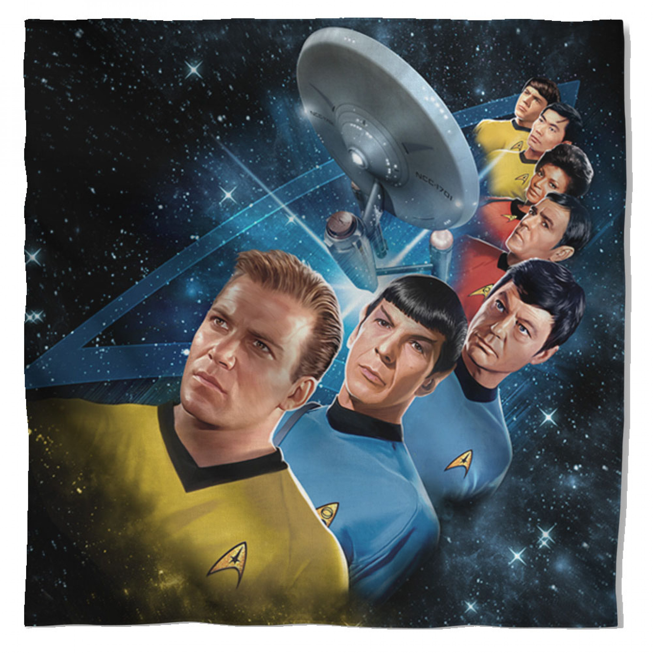 Star Trek Among the Stars Bandana