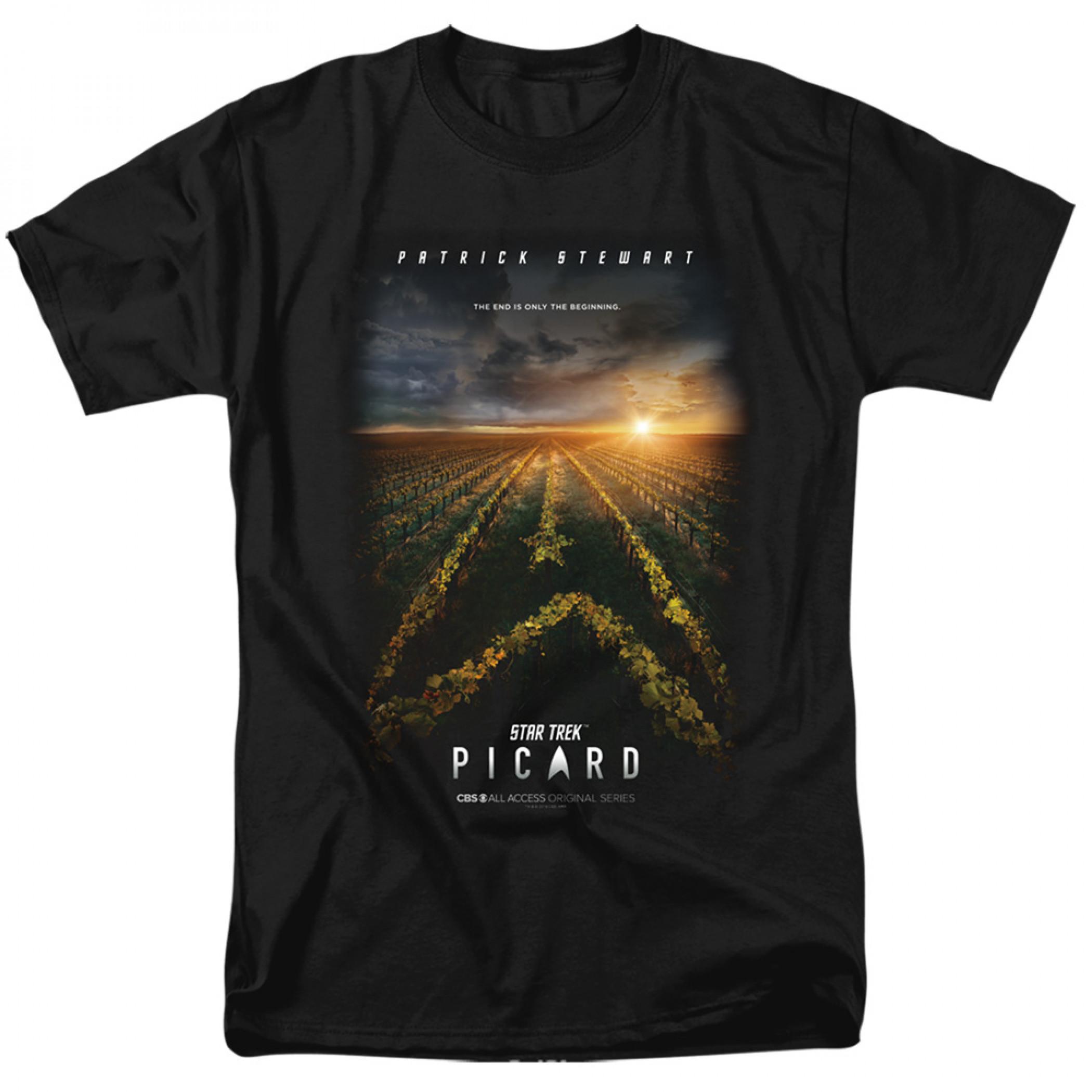 Star Trek Picard Poster T-Shirt