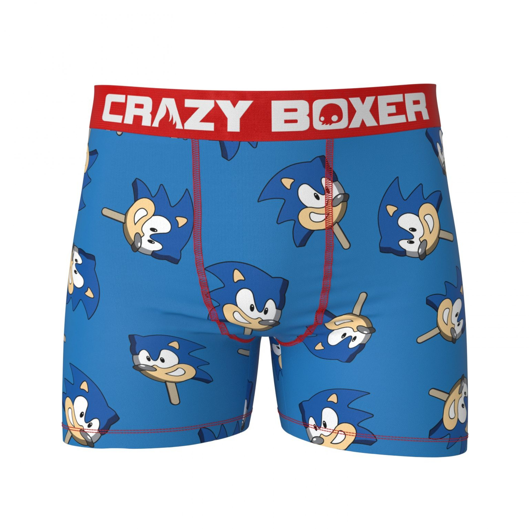 Sonic the Hedgehog Head Icy Treat Boxer Briefs
