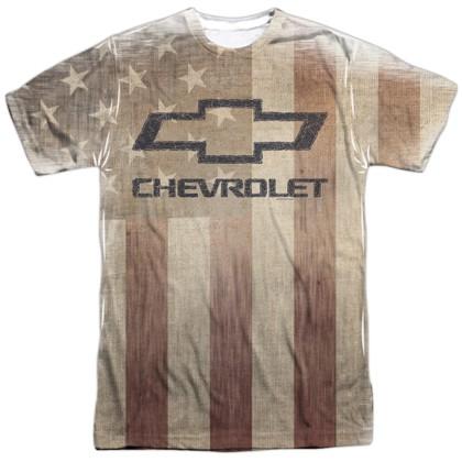 Chevrolet Chevy American Pride Logo Tshirt