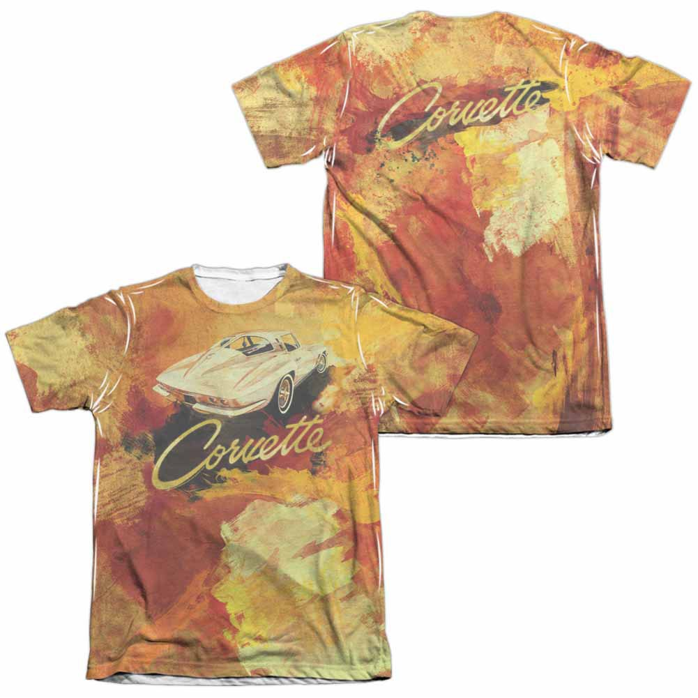 Chevy Painted Sting Ray White 2-Sided Sublimation T-Shirt