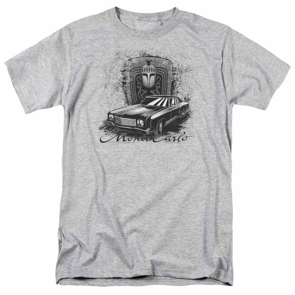 Chevy Monte Carlo Drawing Gray T-Shirt