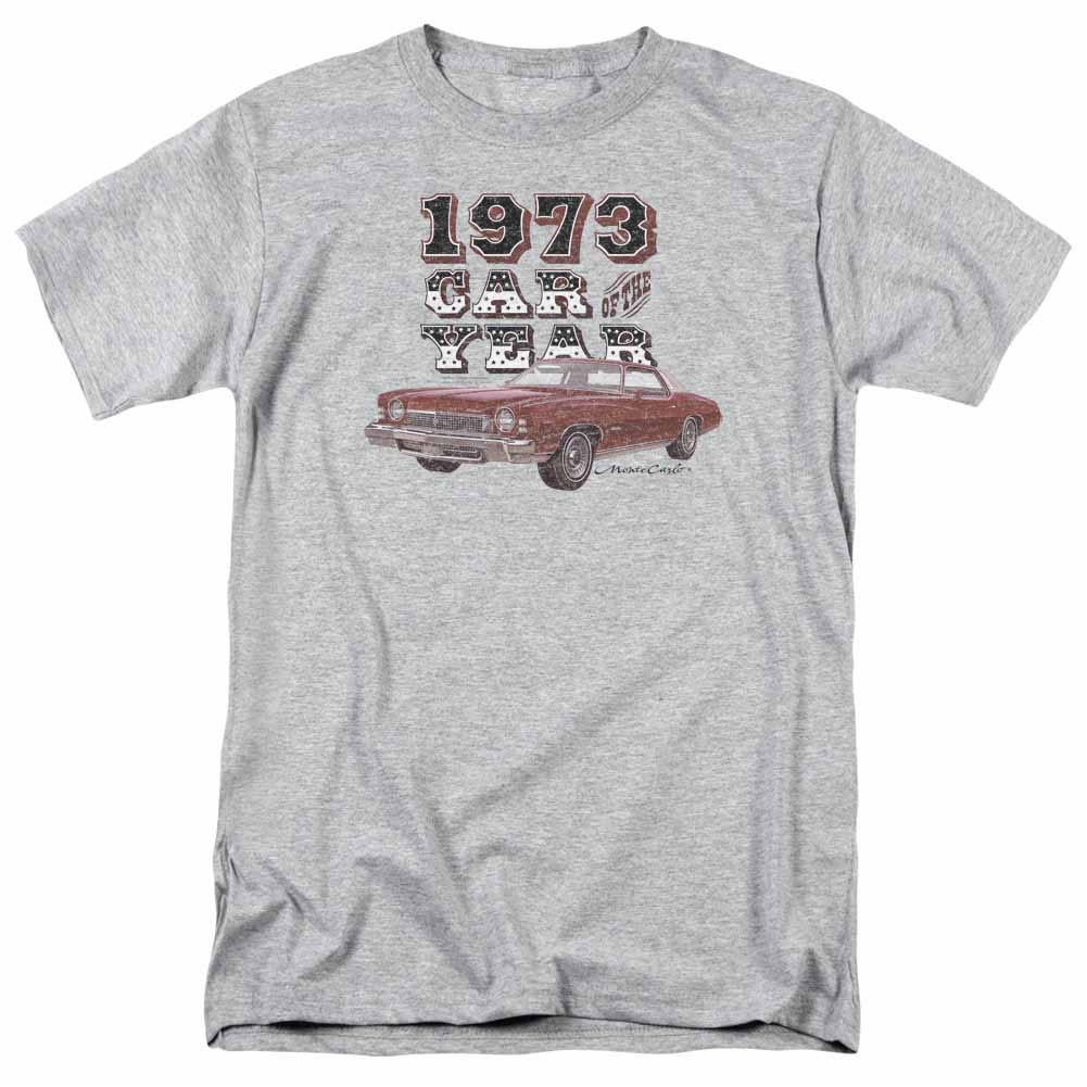 Chevy Car Of The Year Gray T-Shirt
